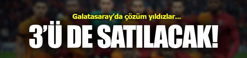 Galatasaray yıldızlarını satıyor