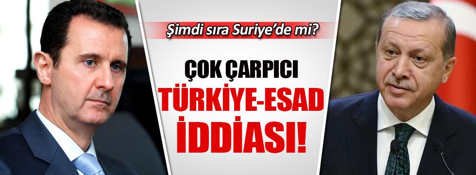 Reuters'tan çarpıcı Türkiye Esad iddiası!