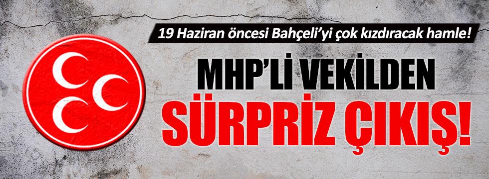 MHP'li Nuri Okutan'dan 19 Haziran'a destek