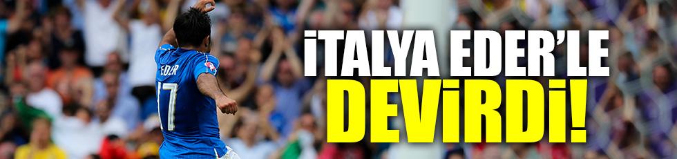 Euro 2016 E Grubu'nda İtalya İsveç'i 1-0 mağlup etti..