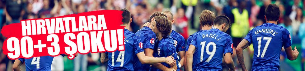 Hırvatistan'ı Necid durdurdu.