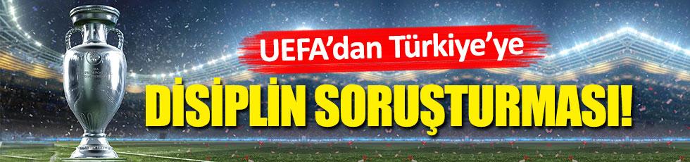 UEFA'dan Türkiye'ye soruşturma açıldı!