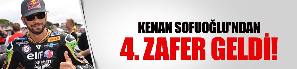 Kenan Sofuoğlu'ndan 4. zafer!