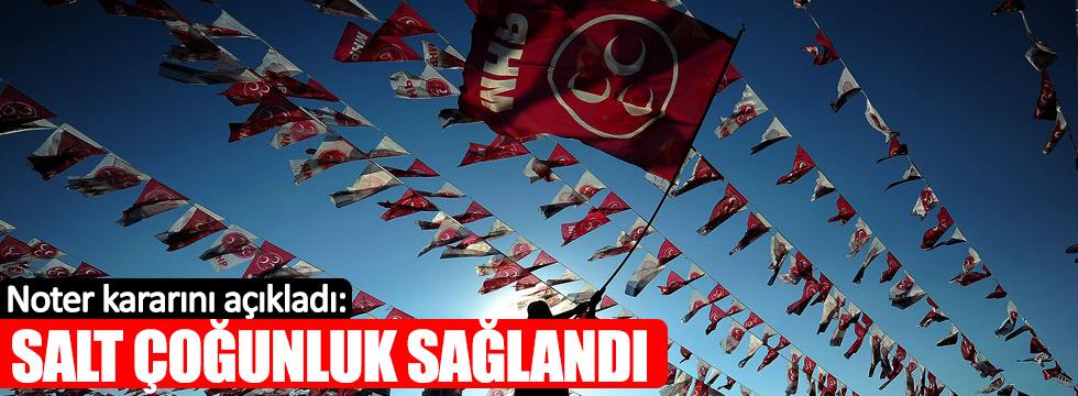Ankara 13.Noterliği'nden 'MHP Kurultayı' açıklaması