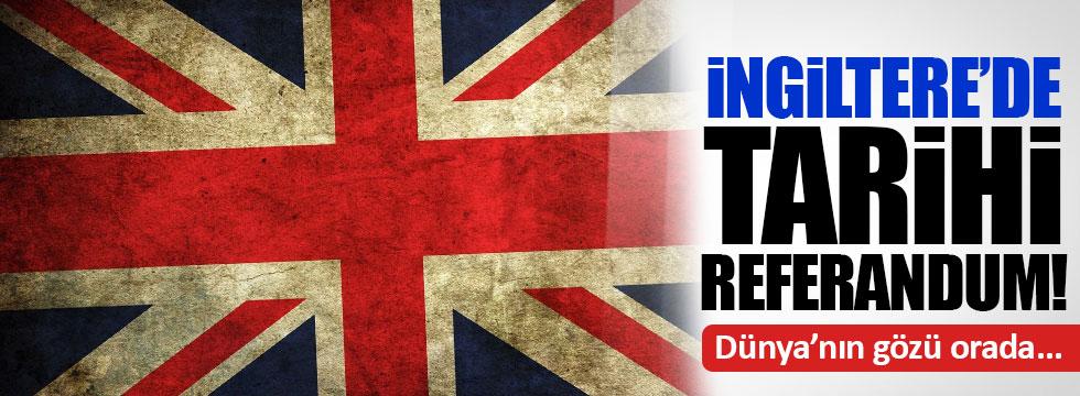 İngiltere'nin 'AB referandumu' anketi