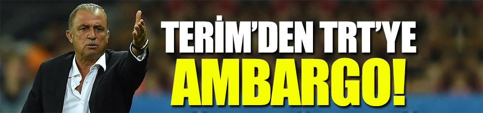 Terim'in TRT ambargosunun sebebi belli oldu!