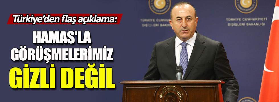 Türkiye'den İsrail'e 'Hamas' mesajı