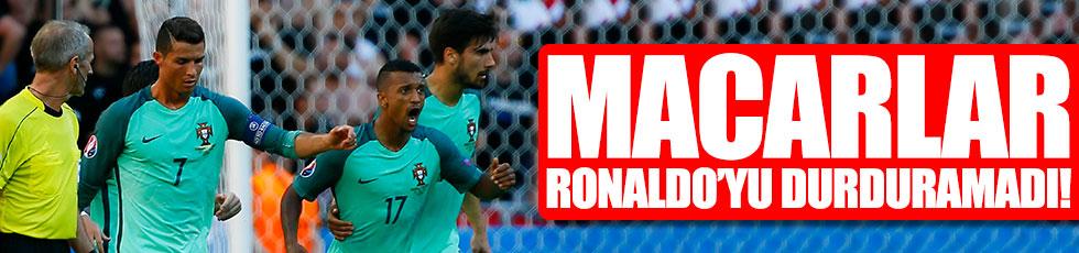 Macarlar Ronaldo'yu durduramadı