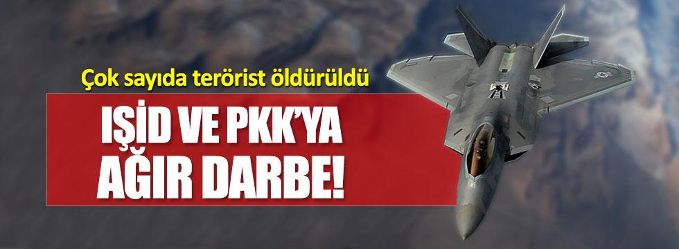 TSK jetleri, PKK ve IŞİD hedeflerini vurdu!