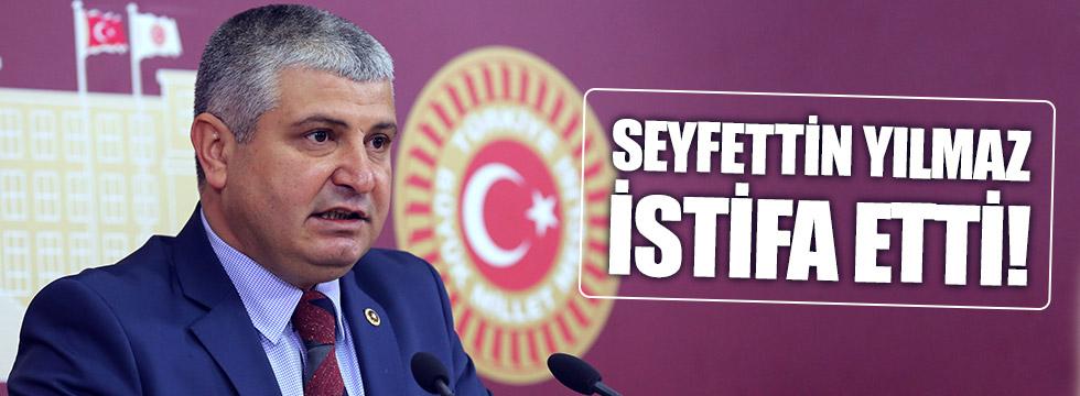 MHP'de Seyfettin Yılmaz da istifa etti