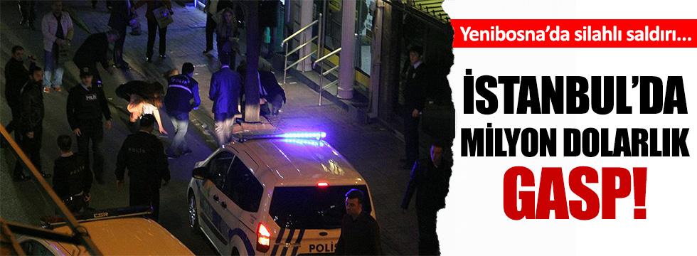 İstanbul Yenibosna'da büyük vurgun!