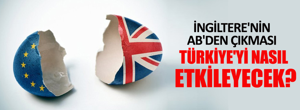 İngiltere'nin AB'den çıkması Türkiye'yi nasıl etkileyecek?
