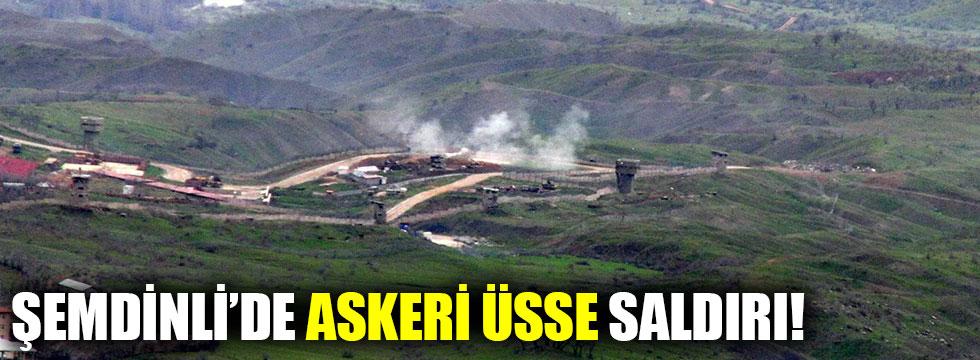 PKK'lılar Hakkari'de askeri üsse saldırdı