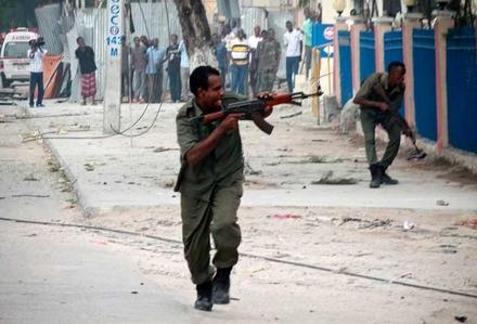 Otele silahlı saldırı: 7 ölü