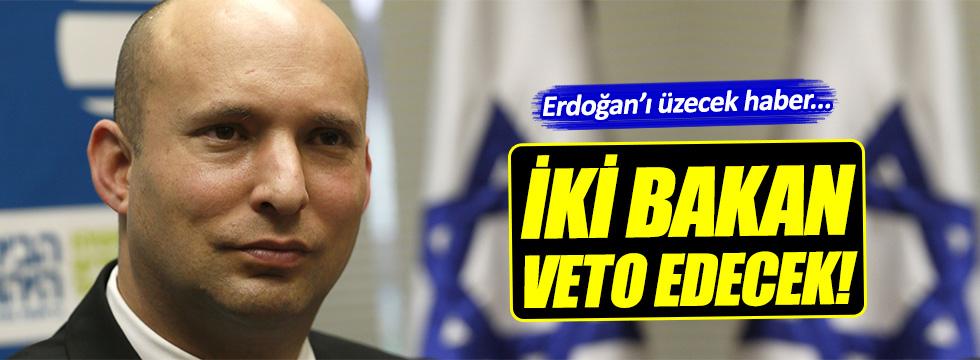 İsrail'de Erdoğan'ı üzecek karar!