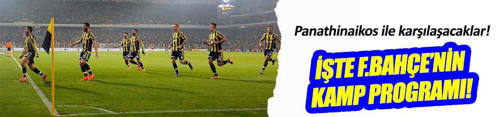 Fenerbahçe'nin hazırlık maçı programı belli oldu!