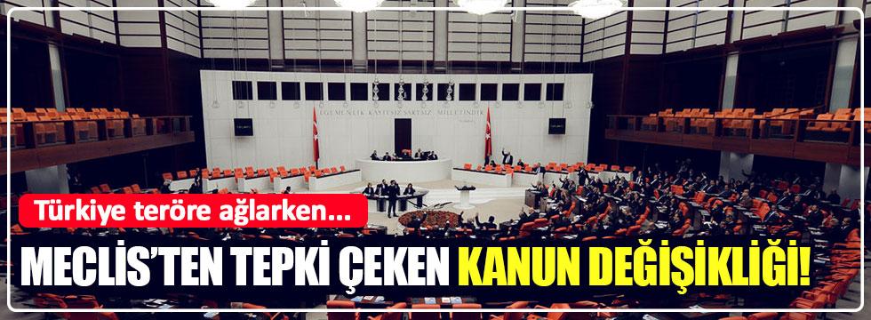 """Meclis'ten tepki çeken """"Danıştay Kanunu"""" değişimi"""
