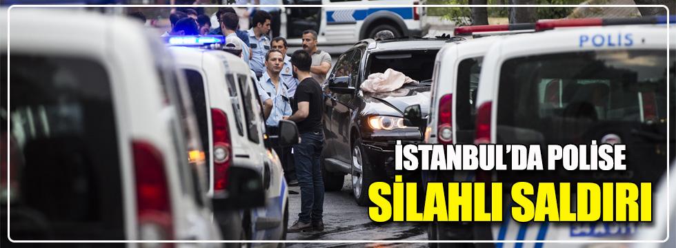 İstanbul'da polise silahlı saldırı: 1 yaralı!