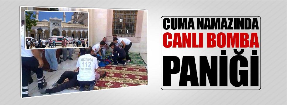 Adana'da canlı bomba paniği!