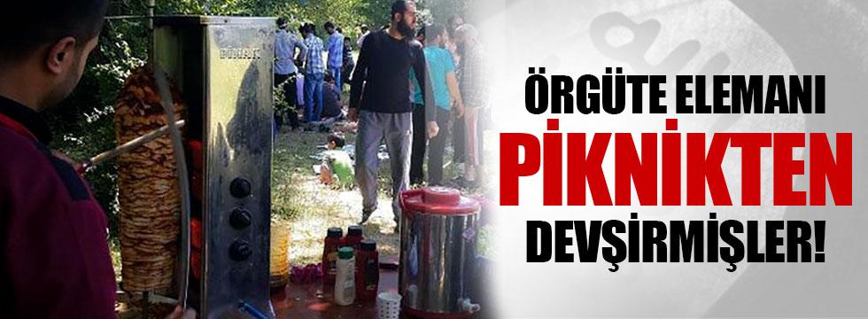 IŞİD piknik düzenleyerek örgüte eleman toplamış