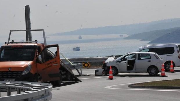 Osmangazi'de  ilk kaza