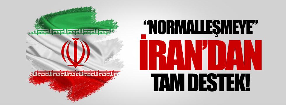 İran, normalleşmeyi destekledi
