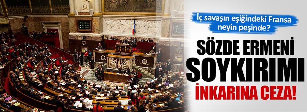 Fransa'da sözde Ermeni soykırımı inkarına ceza