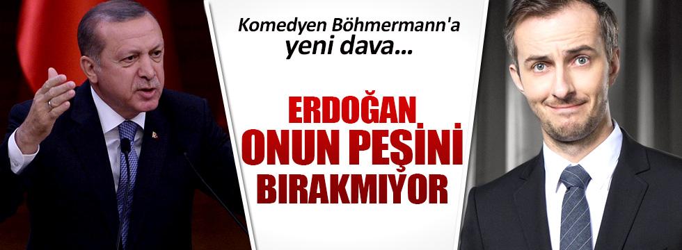 Erdoğan'dan Alman komedyen Böhmermann'a yeni dava
