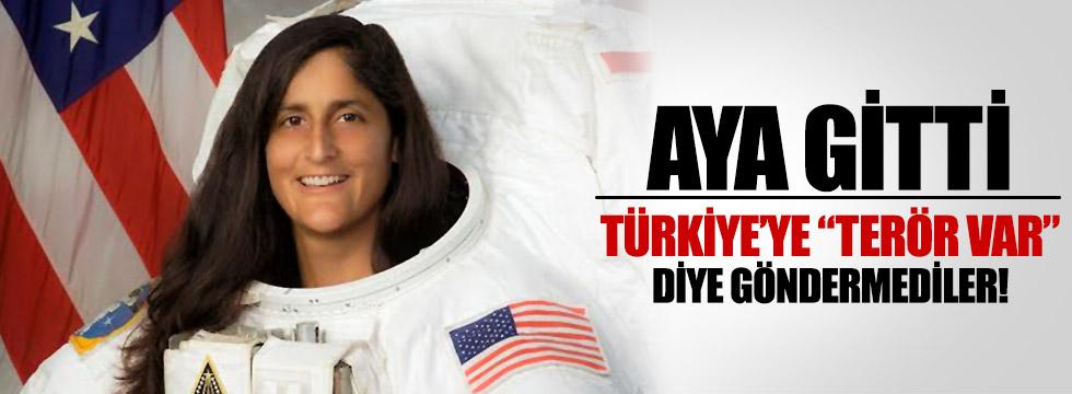 Türkiye'ye gelmesine NASA izin vermedi