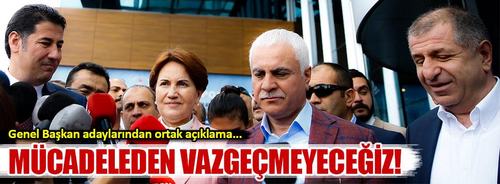 MHP Genel Başkan ortak basın açıklaması