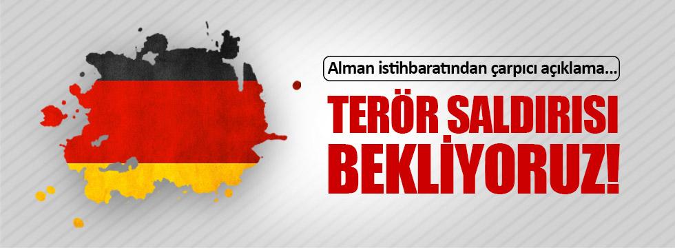 Georg Maassen: Almanya'da saldırı bekliyoruz