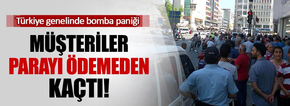 Bomba Paniği Türkiye'yi esir aldı