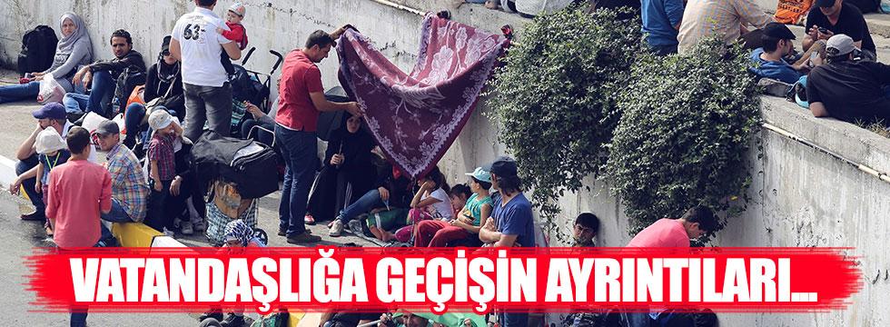 Suriyelilere vatandaşlıkta ilk şart uyum