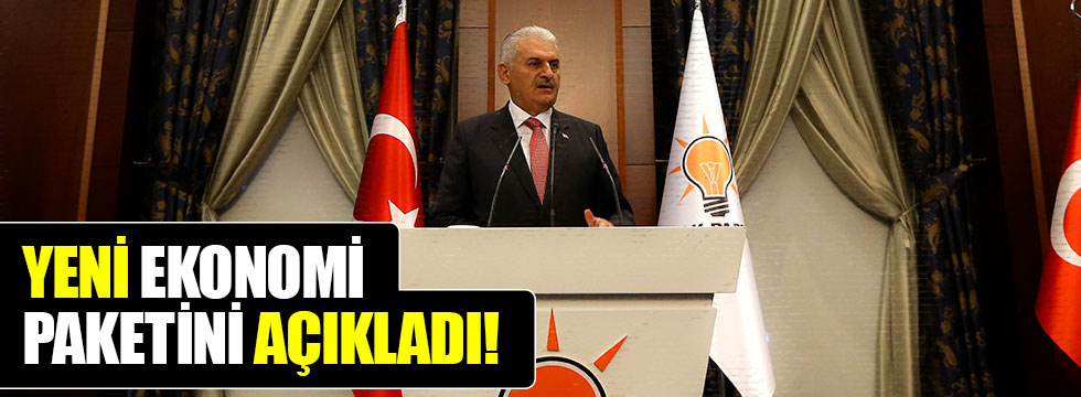 Başbakan Yıldırım'dan ekonomi paketi açıklaması