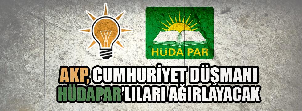 AKP, HÜDAPAR'ı ağırlaycak
