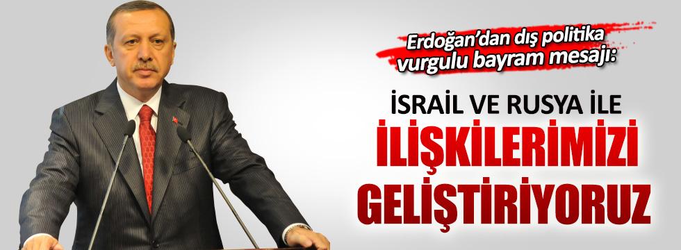 Erdoğan'dan dış politika vurgulu Ramazan Bayramı mesajı