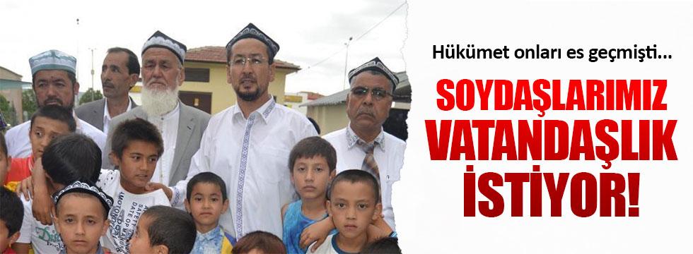 Doğu Türkistanlılar vatandaşlık istiyor!