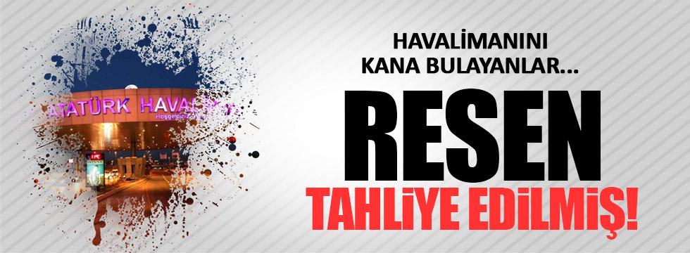 Atatürk Havaalanı'na saldıranlar yakalanıp bırakılmış