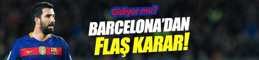 Barcelona'dan ilginç Arda Turan kararı!