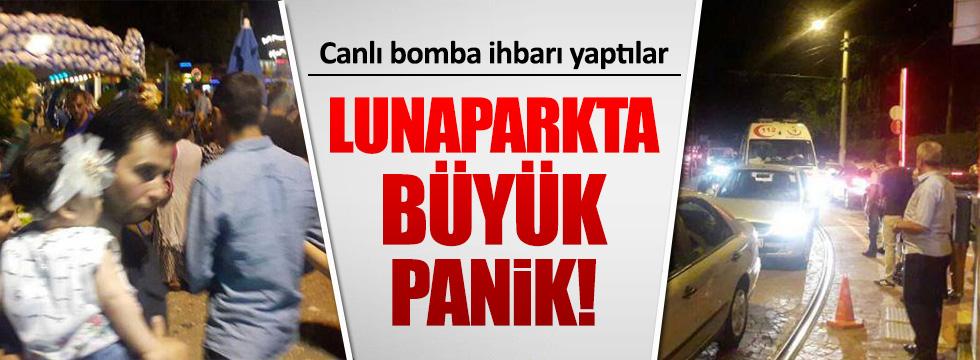 Bursa'da lunaparkta canlı bomba ihbarı yapıldı!
