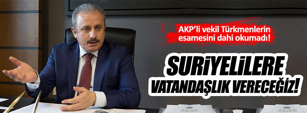 AKP'li vekil Türkmenleri hiç saydı!