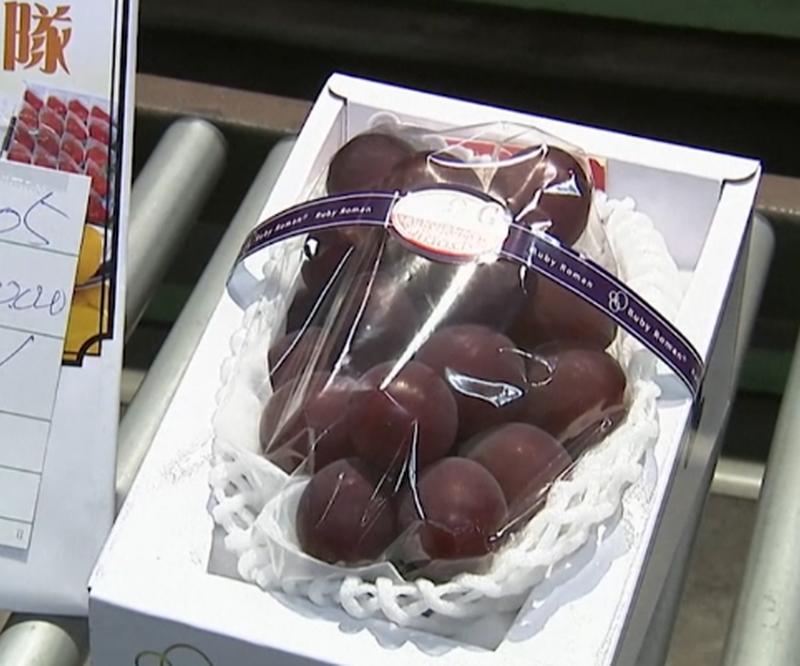 Bir salkım üzüme 10 bin Euro