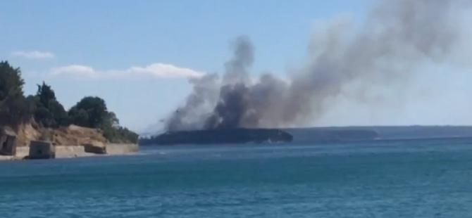 Tarihi Gelibolu Yarımadası yanıyor!