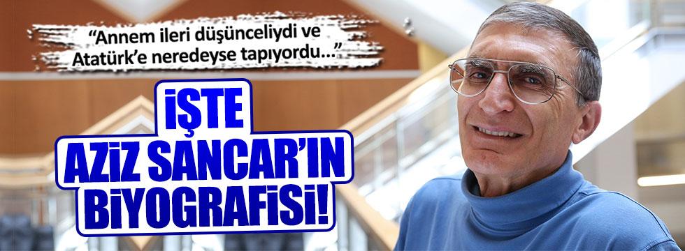 'Türk vatanseveri' Aziz Sancar, biyografisini yayınladı!