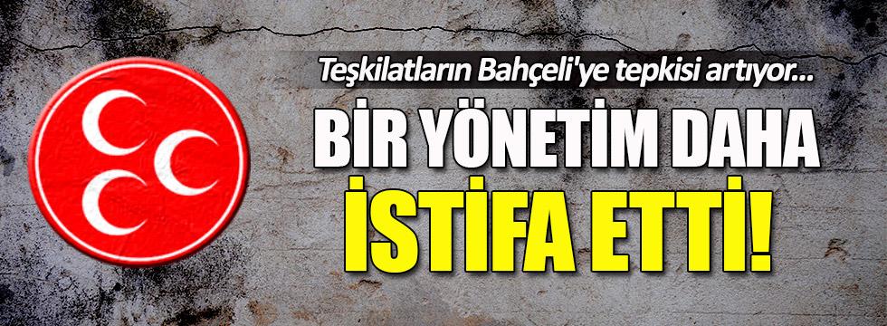 MHP Ordu Gölköy İlçe Teşkilatı topluca istifa etti