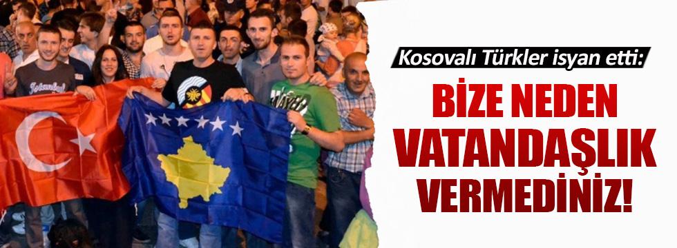 Kosovalı Türklerin vatandaşlık isyanı