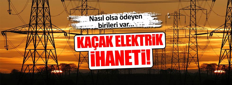 Doğuda kaçak elektrik kullanımı artıyor!