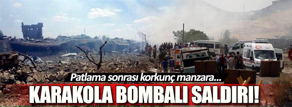 Mardin'de bombalı saldırıda şehit sayısı 2'ye yükseldi!