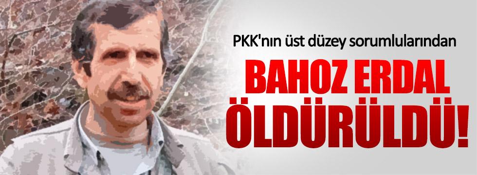 Bahoz Erdal kod adlı Fehman Hüseyin öldürüldü