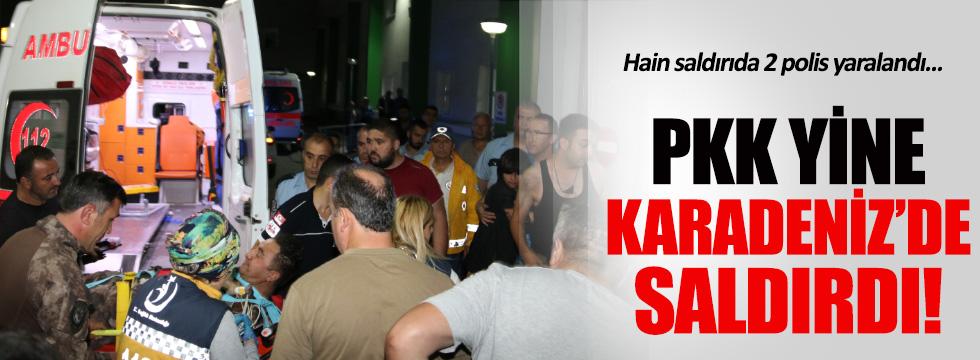 PKK'dan Karadeniz'de hain saldırı!